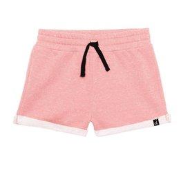 Deux Par Deux French Terry Short in Pink
