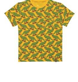 Deux Par Deux Dinosaur Printed T-Shirt