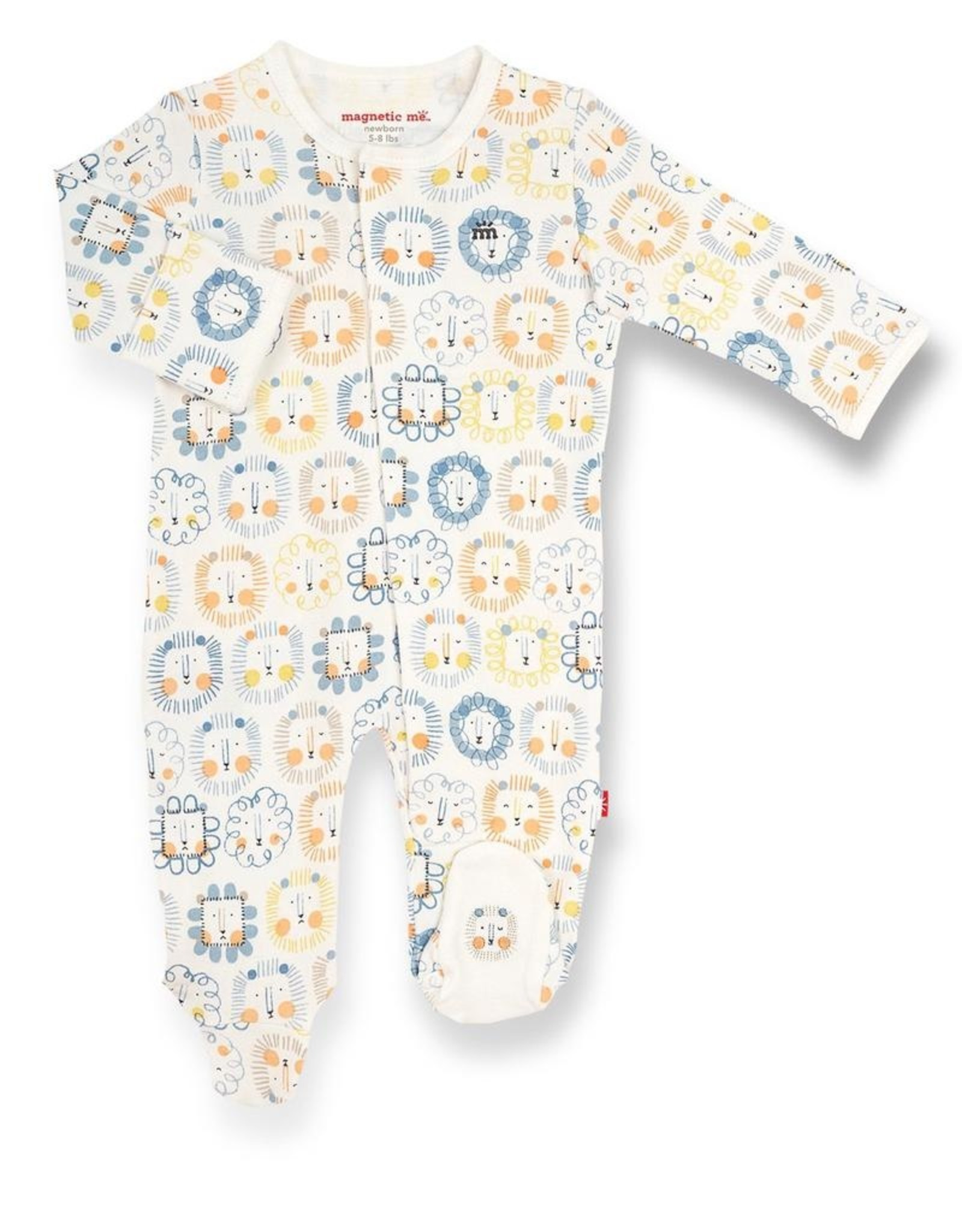 Magnetic Me Mane Event Organic Cotton Magnetic Footie