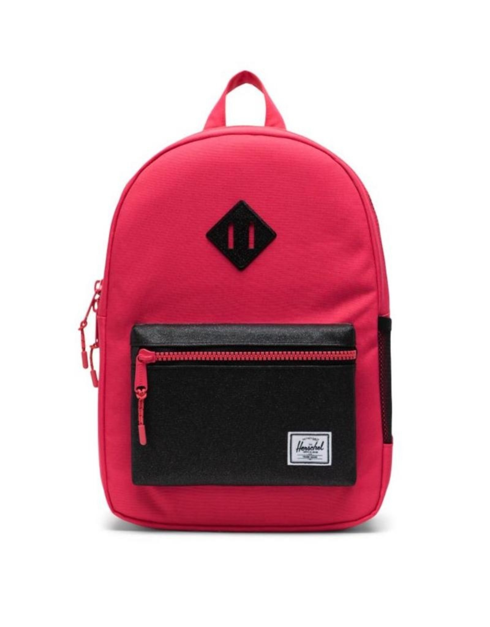 Herschel Supply Co. Heritage Backpack | Kids, Rouge Red/Black Sparkle, 9L