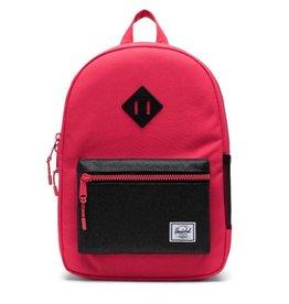 Herschel Supply Co. Heritage Backpack | Kids, Rouge Red/Black Sparkle, 9L