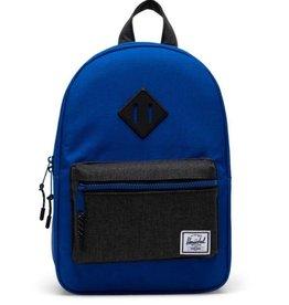 Herschel Supply Co. Heritage Backpack   Kids, Surf The Web/Black Crosshatch, 9L