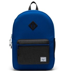 Herschel Supply Co. Herschel Supply, Heritage Backpack   Youth XL, Surf The Web/Black Crosshatch, 22L