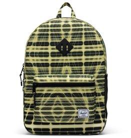 Herschel Supply Co. Herschel Supply, Heritage Backpack | Youth XL, Neon Grid Highlight, 22L