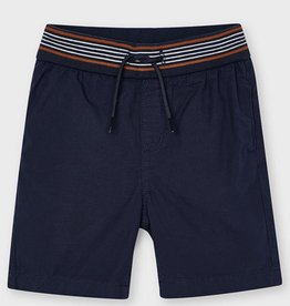 Mayoral Navy Bermuda Shorts With Elastic Waist