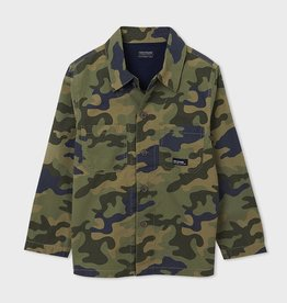 Mayoral Camouflage Song Sleeved Shirt