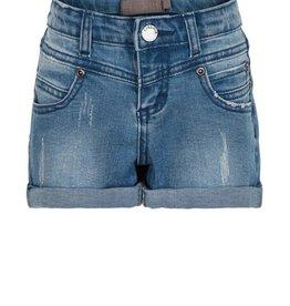 Creamie Light Blue Denim Shorts