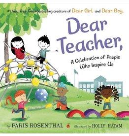 Dear Teacher, by Amy Krouse Rosenthal