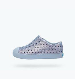Native Shoes Jefferson Bling Youth in Alaska Bling/ Alaska Blue