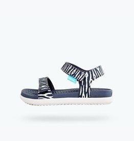 Native Shoes Charley Print Child in Darknite Grey/ Zinc Grey/ Zebra Cuddlefish