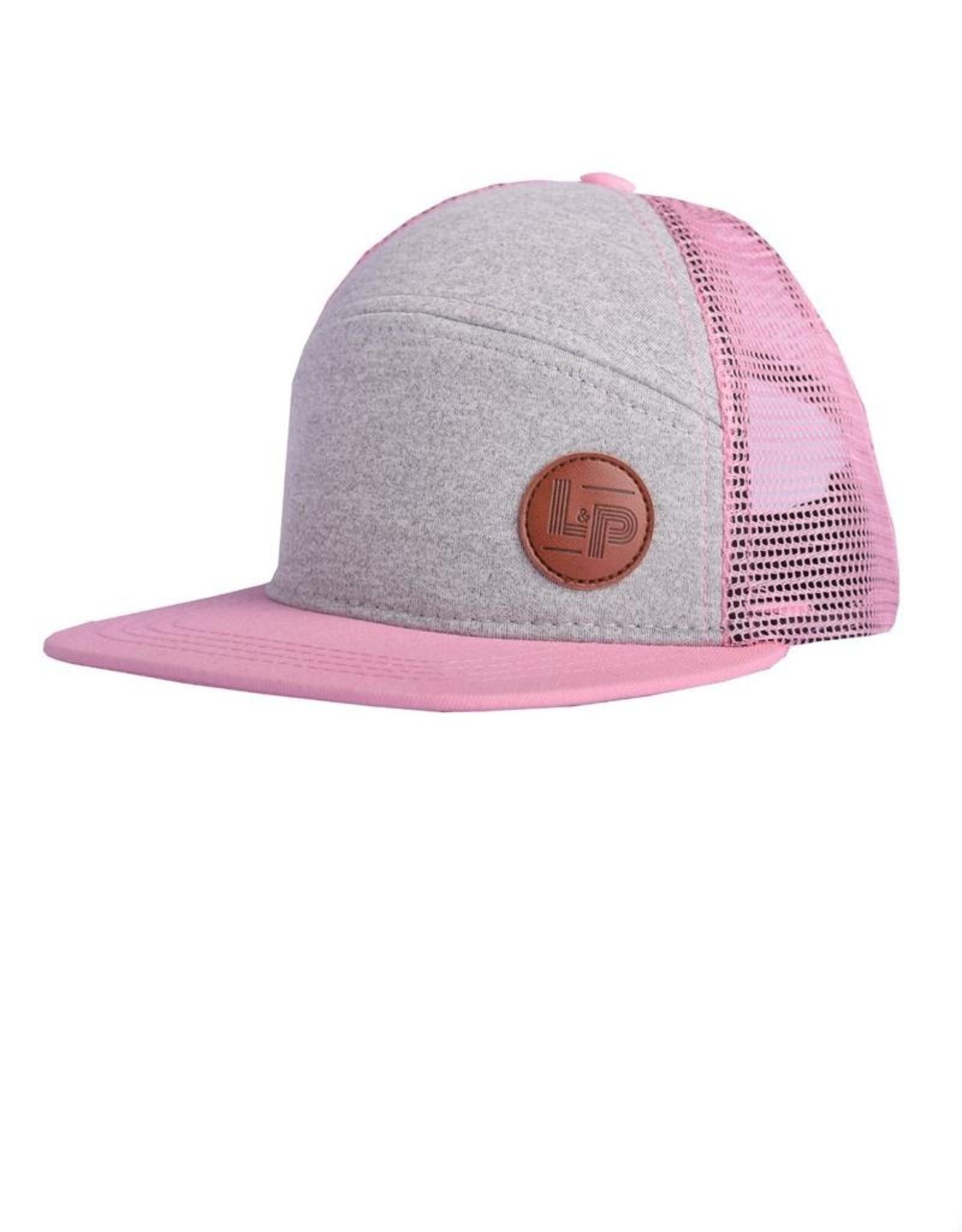 L&P Apparel Sweetness Pink Orleans Snapback Girls Cap