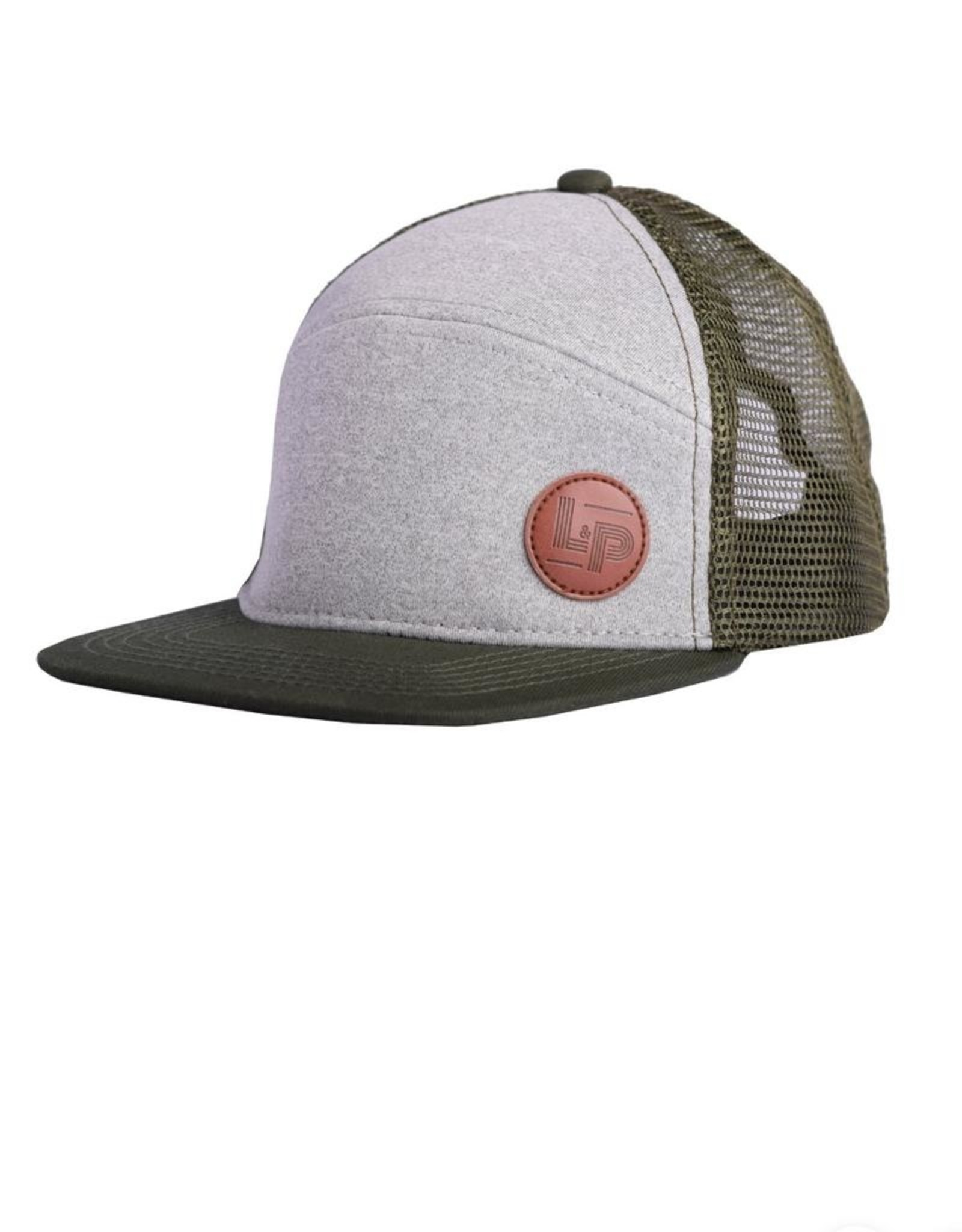 L&P Apparel Green Orleans Snapback Cap