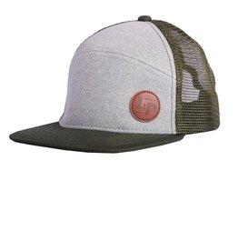 L&P Apparel Green Orleans Snapback Cap