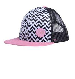 L&P Apparel Canberra Pink Snapback Cap