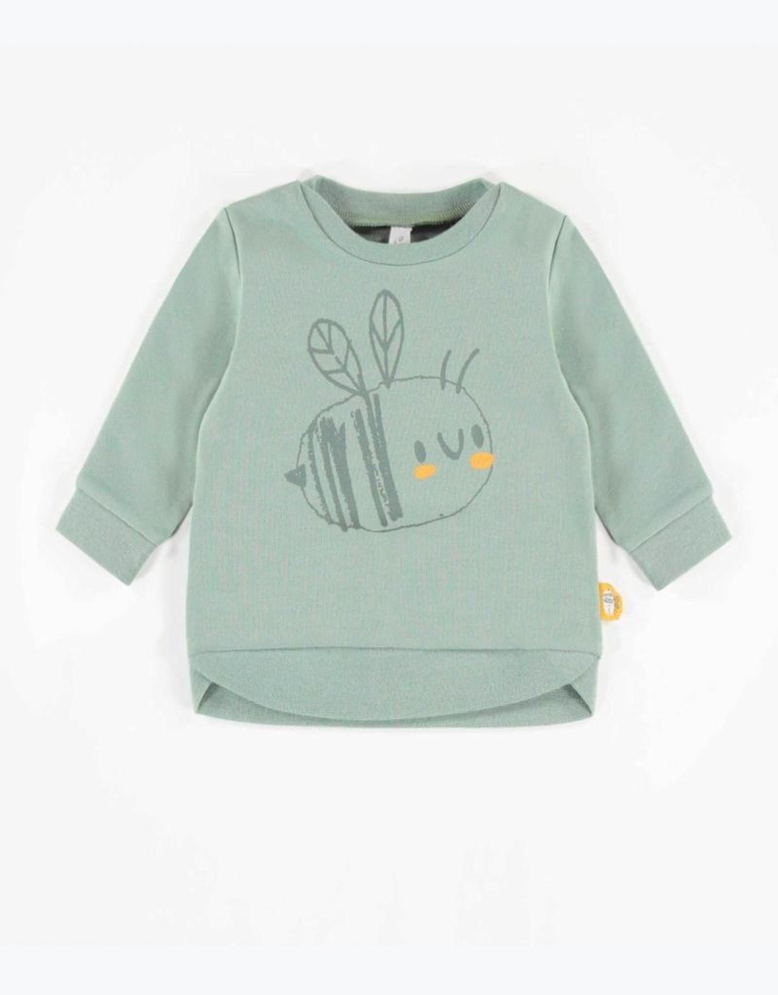 Souris Mini Blue Outdoor Print Baby Jogger pants