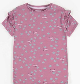 Souris Mini Purple Printed Short-Sleeve T-shirt