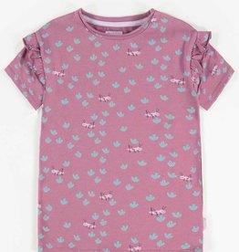 Souris Mini souris mini, Purple Printed Short-Sleeve T-shirt, Purple, 4yrs