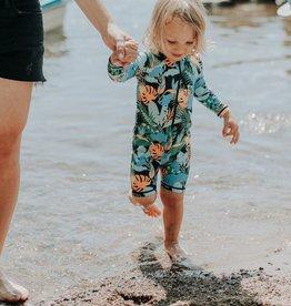 Birdz Children Baby Black Jungle One Piece | Swimsuit |