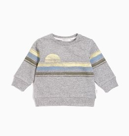 Lakeview Baby Sweatshirt in Heather Grey