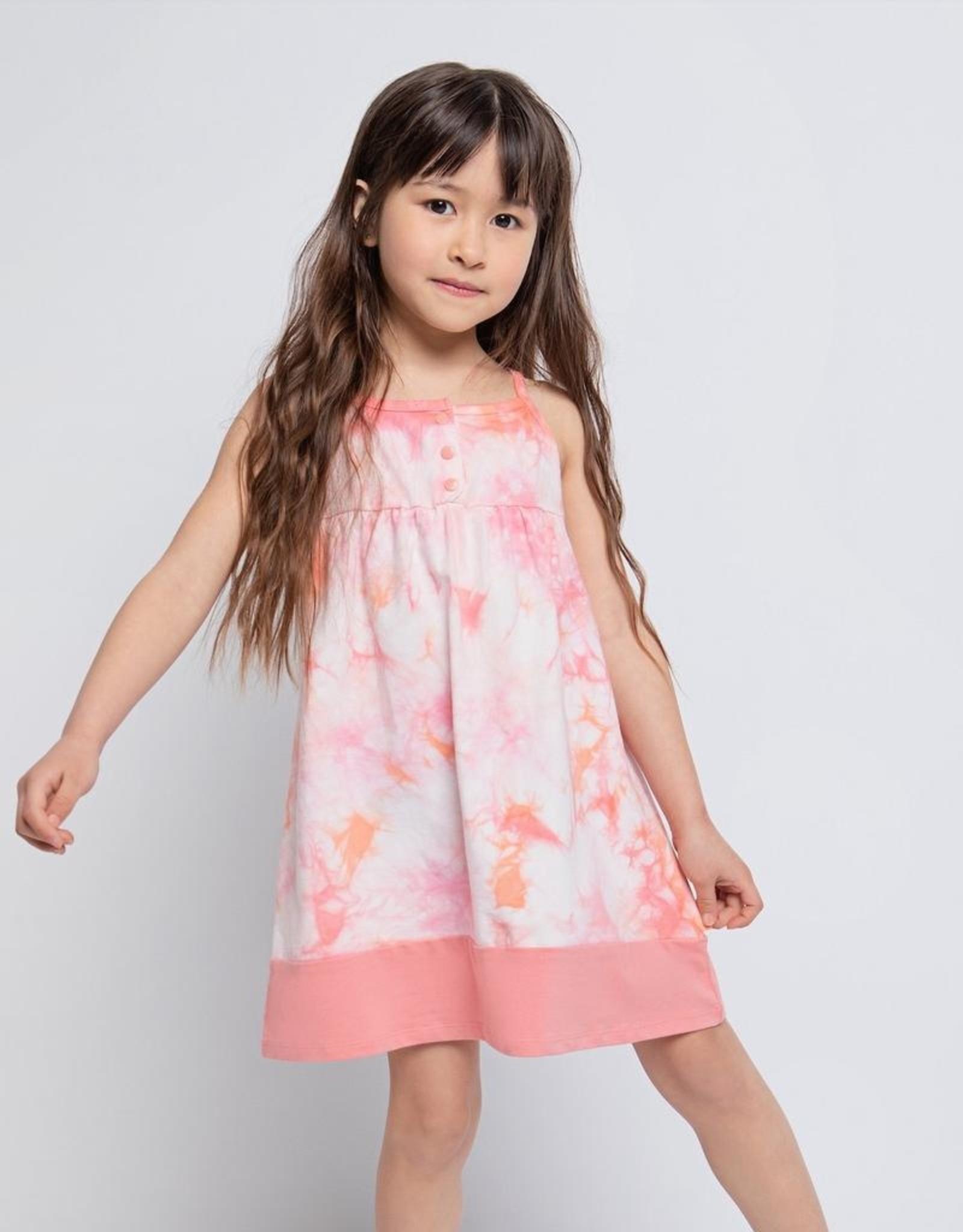 Melon Tie Dye Cami Dress