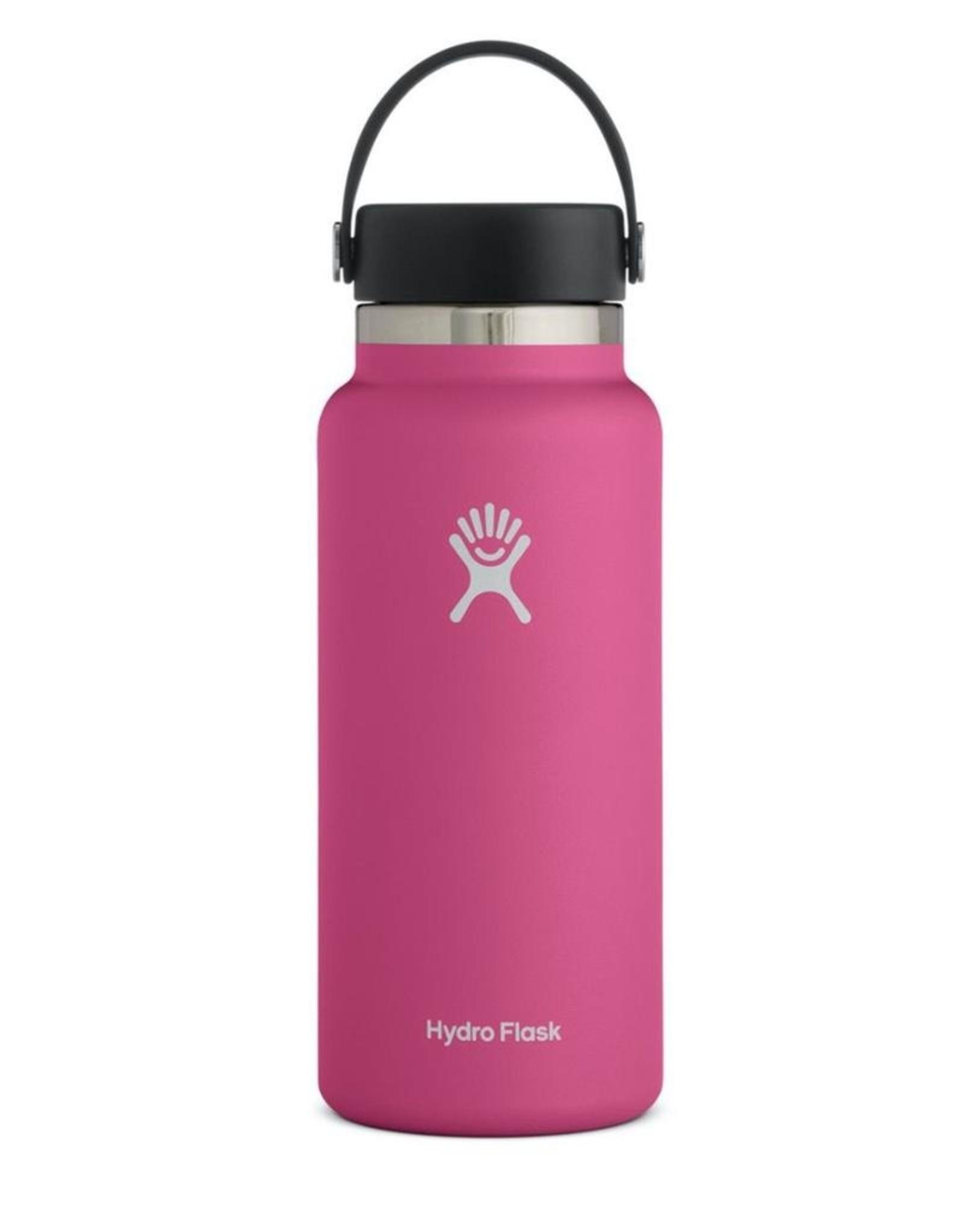 Hydro Flask 32 oz Wide Mouth Flex Cap Bottle in Carnation