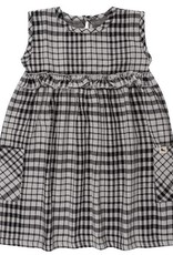 Turtledove London Reversible Dress - Chambray/Check