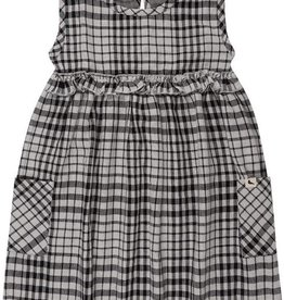 Turtledove London Reversible Dress - Chambray/Check