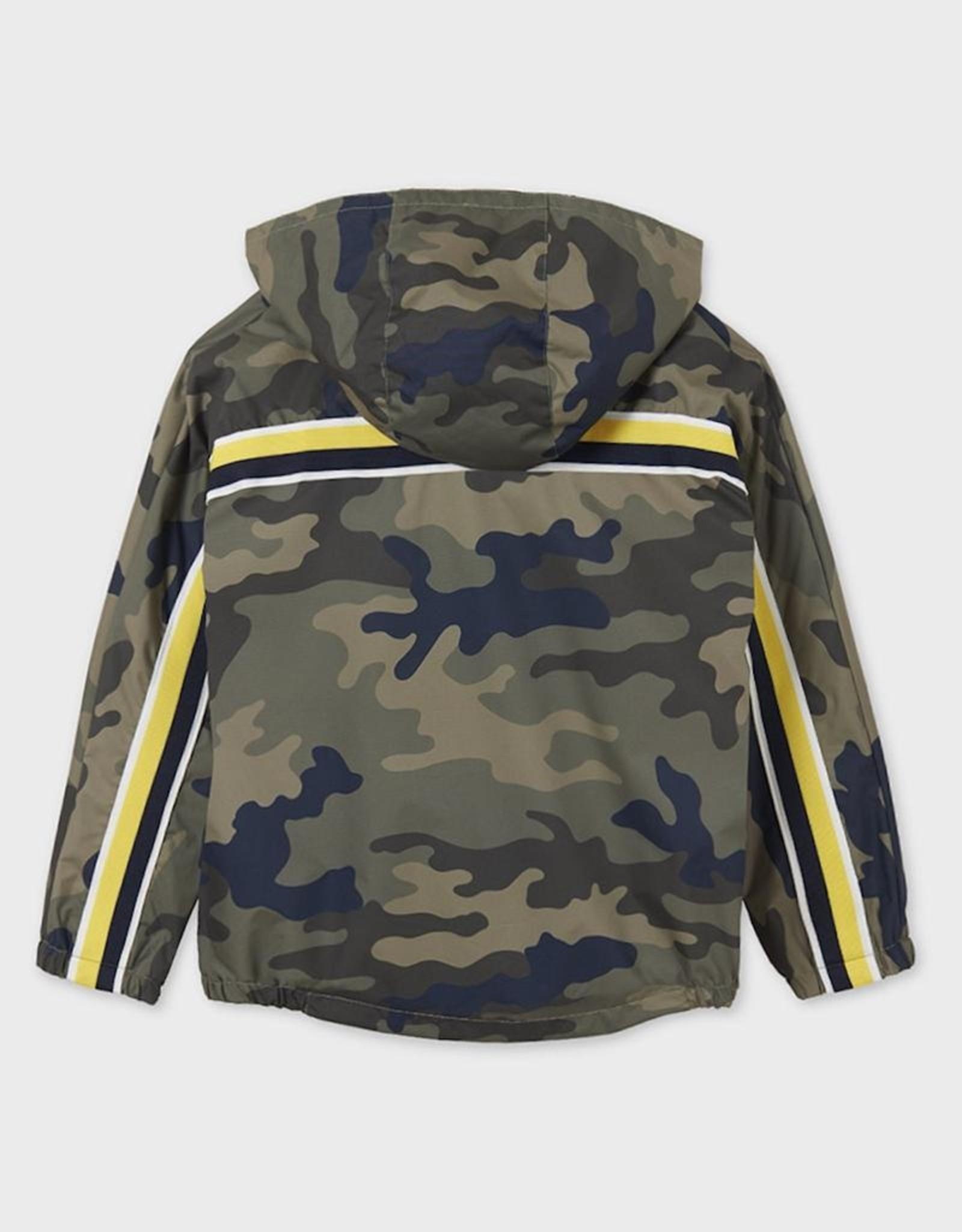 Mayoral Camo Printed Windbreaker Jacket