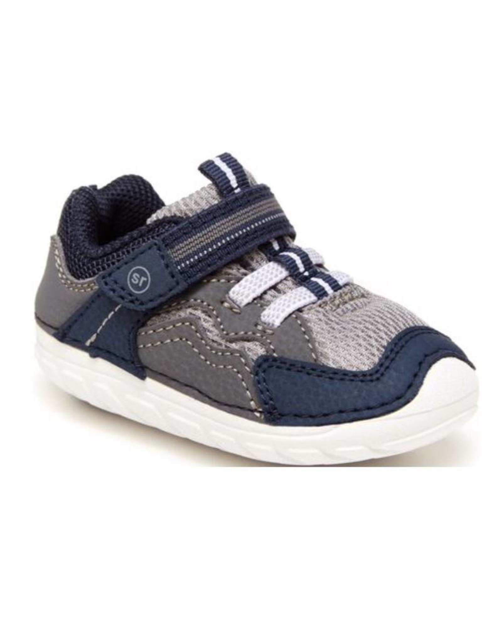 Striderite Navy & Grey Soft Motion Kylo Sneaker