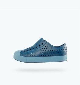 Native Shoes Jefferson Youth / Junior Challenger Blue/ Still Blue