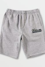 Big Boys Heather Grey Eastmont Sweatshirt Shorts
