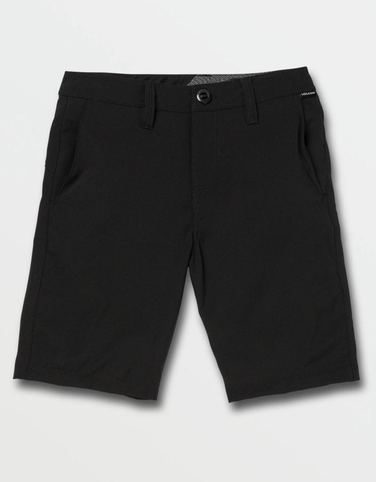 Little Boys Blackout Fricken Surf N' Turf Static Shorts