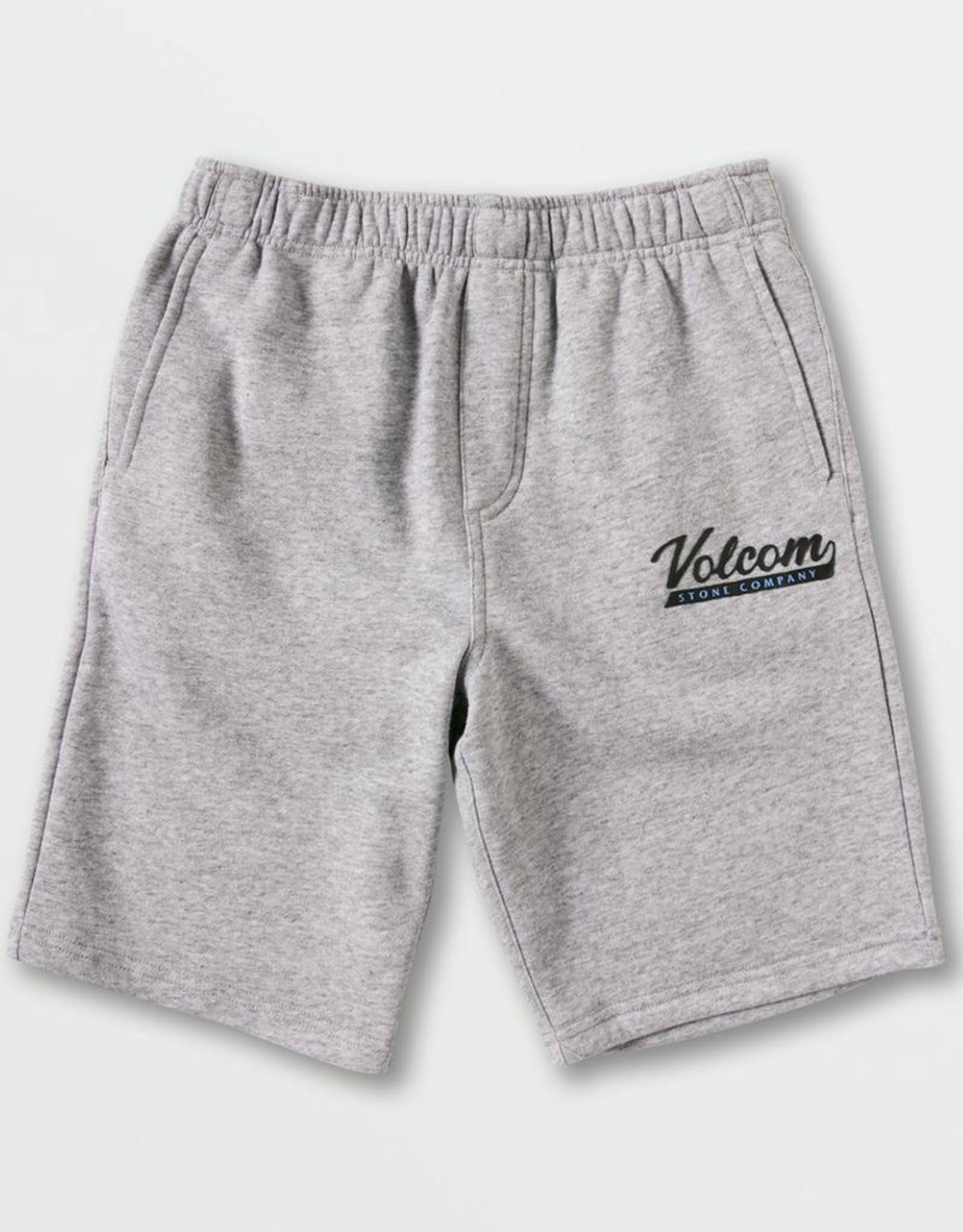 Little Boys Heather Grey Eastmont Sweatshirt Shorts