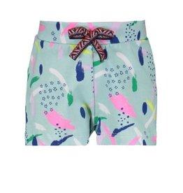 Bampidano Evie Print Cotton Shorts