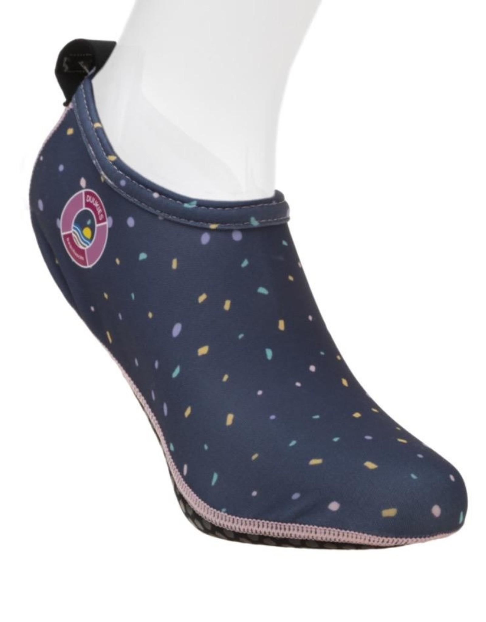 Duukies Beach Socks in Confetti Blue