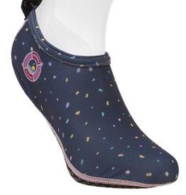 Duukies Adult Beach Socks in Confetti Blue
