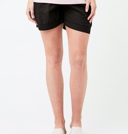 Ripe Maternity Philly Cotton Short in Black