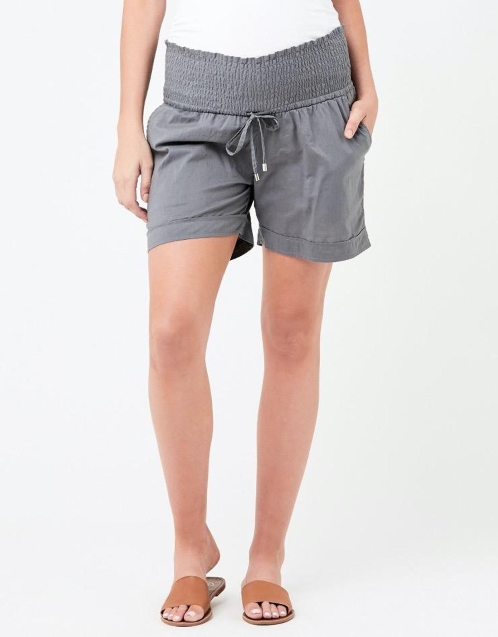 Ripe Maternity Philly Cotton Short in Sulphur