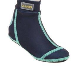 Duukies Beach Socks in Blue & Green
