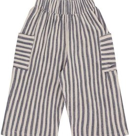 Turtledove London Turtledove, Reversible Summer Trouers - Crinkle Stripe, Crinkle Stripe , 7yrs