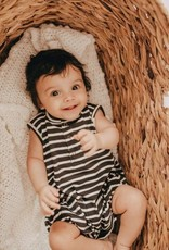 Turtledove London Stripe Bubble Romper