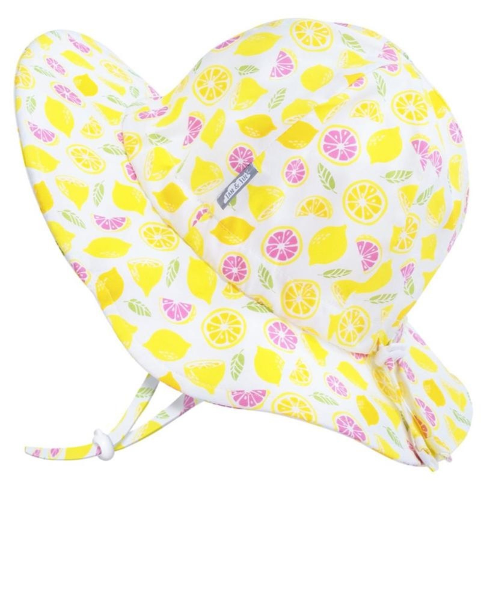 Jan & Jul Girl's Kids' Gro-With-Me® Cotton Floppy Hat