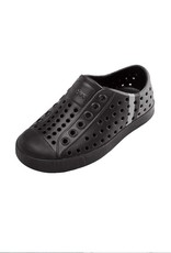 Native Shoes Jefferson Block Child <br /> Jefferson Block Child Jiffy Black/Jiffy Black/Dublin Stripe