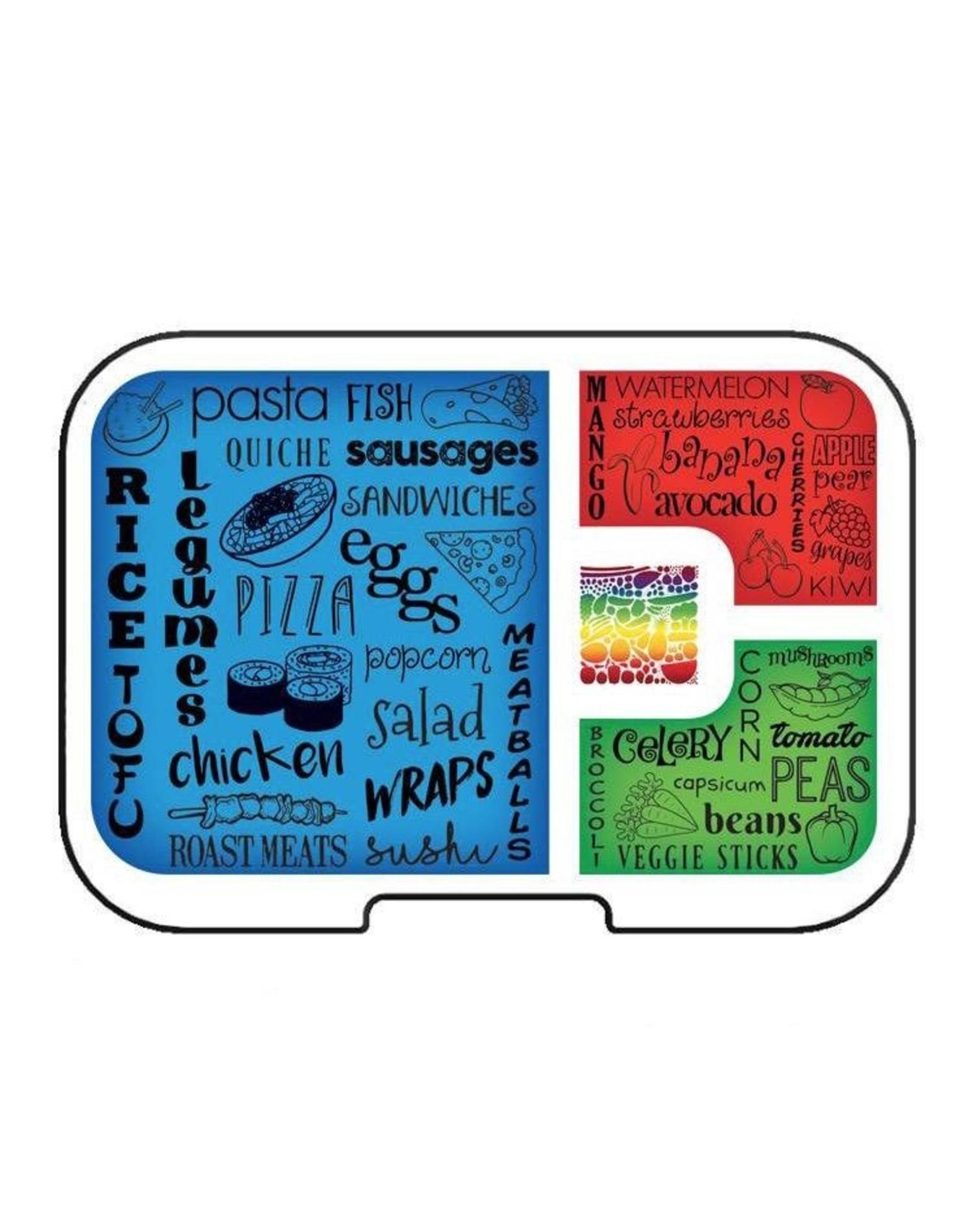 Munchbox Munchbox, Mini4 Clear Tray