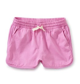 Tea Collection Pom-Pom Shorts in Perennial Pink, Perennial Pink, 6yrs