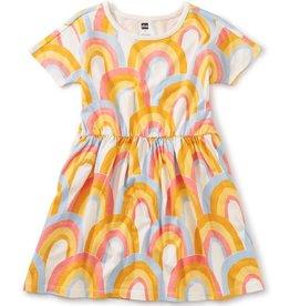 Tea Collection Rainbows Skater Dress, Rainbows, 7yrs