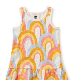 Tea Collection Rainbow Tank Baby Dress
