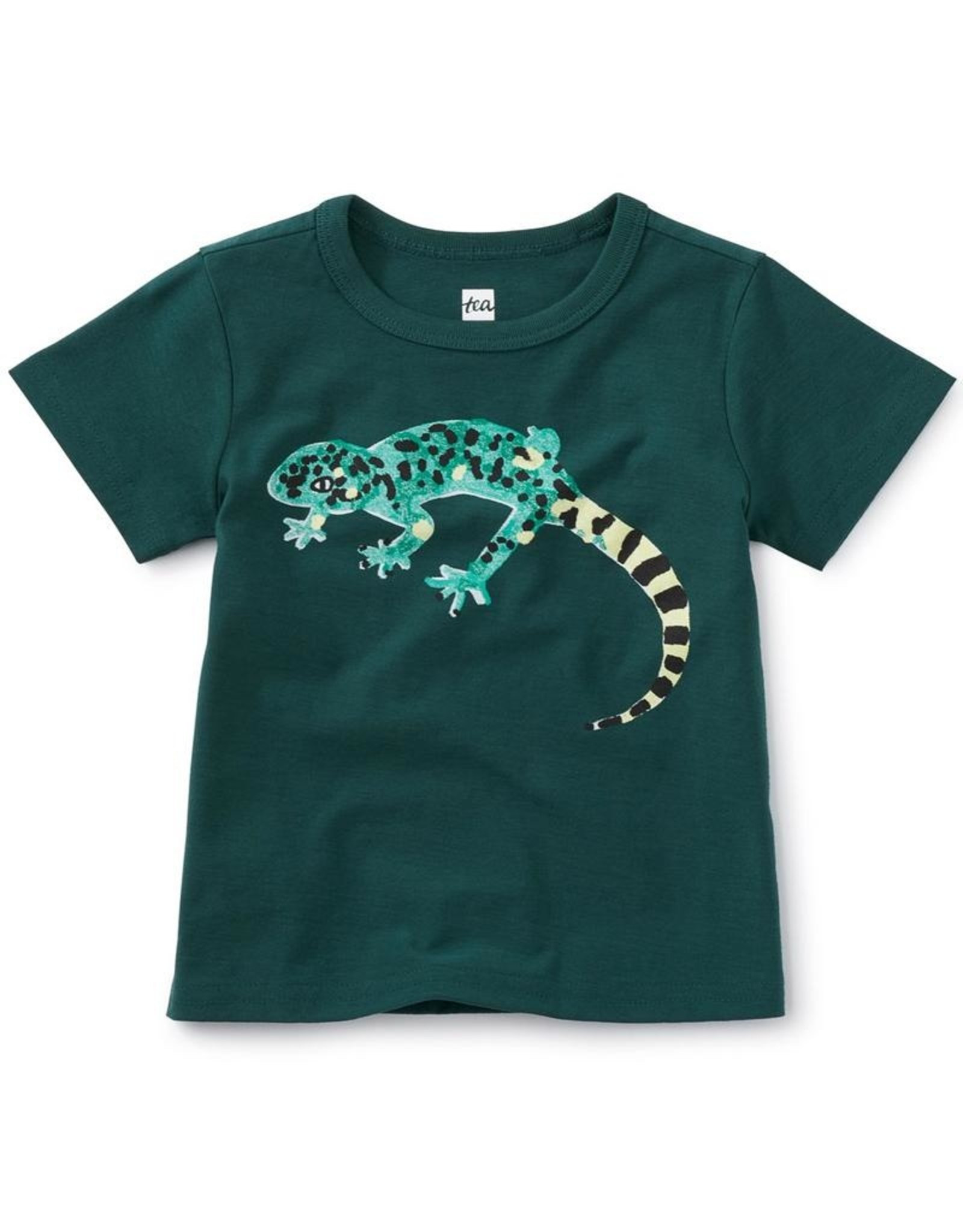 Tea Collection Lounging Lizard Baby Graphic Tee