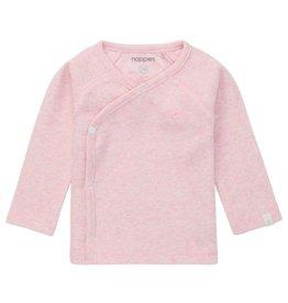 Noppies Kids Nanyuki Ribbed Long Sleeve Top in Light Rose