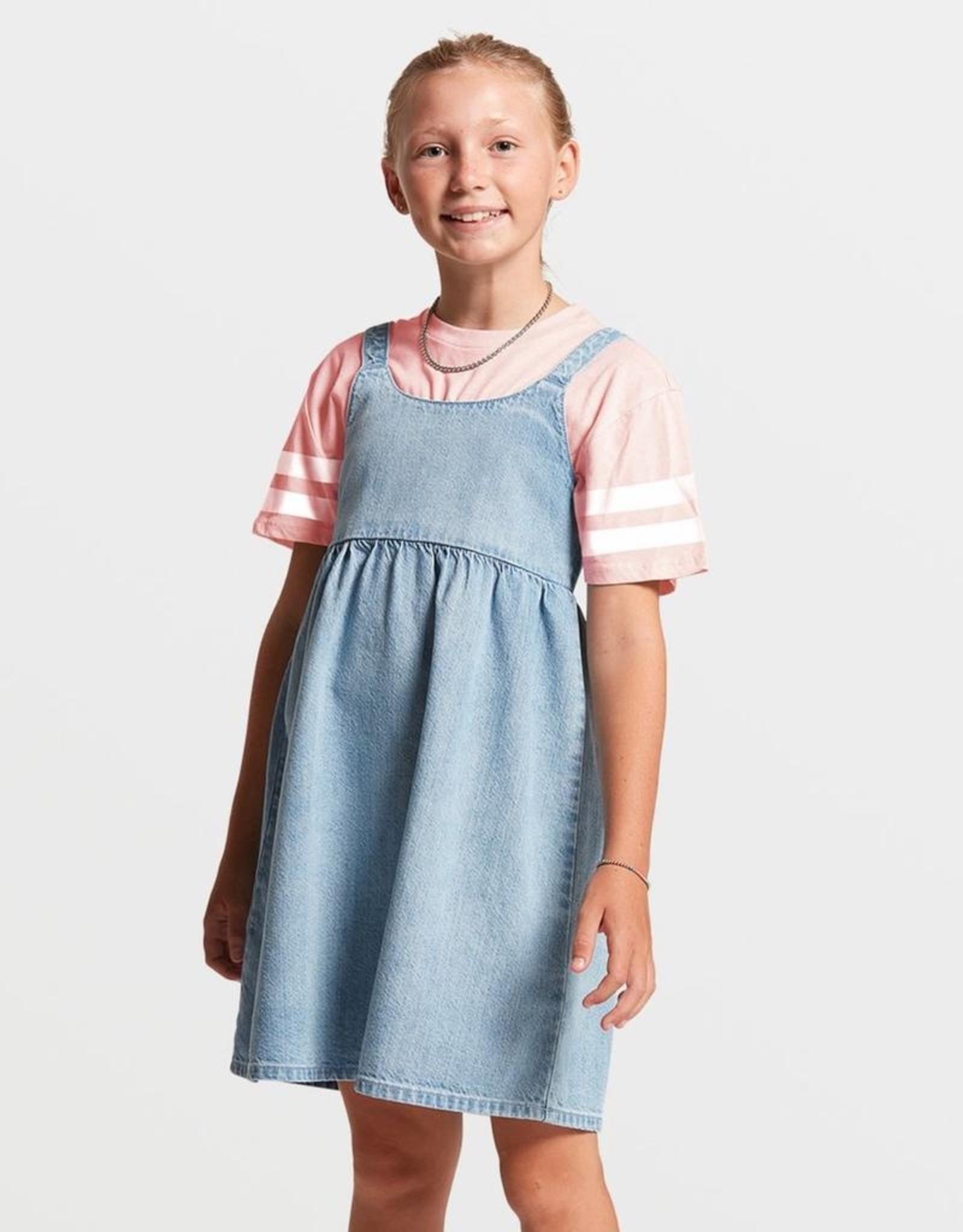 Big Girls Pale Blue Sunday Strut Dress